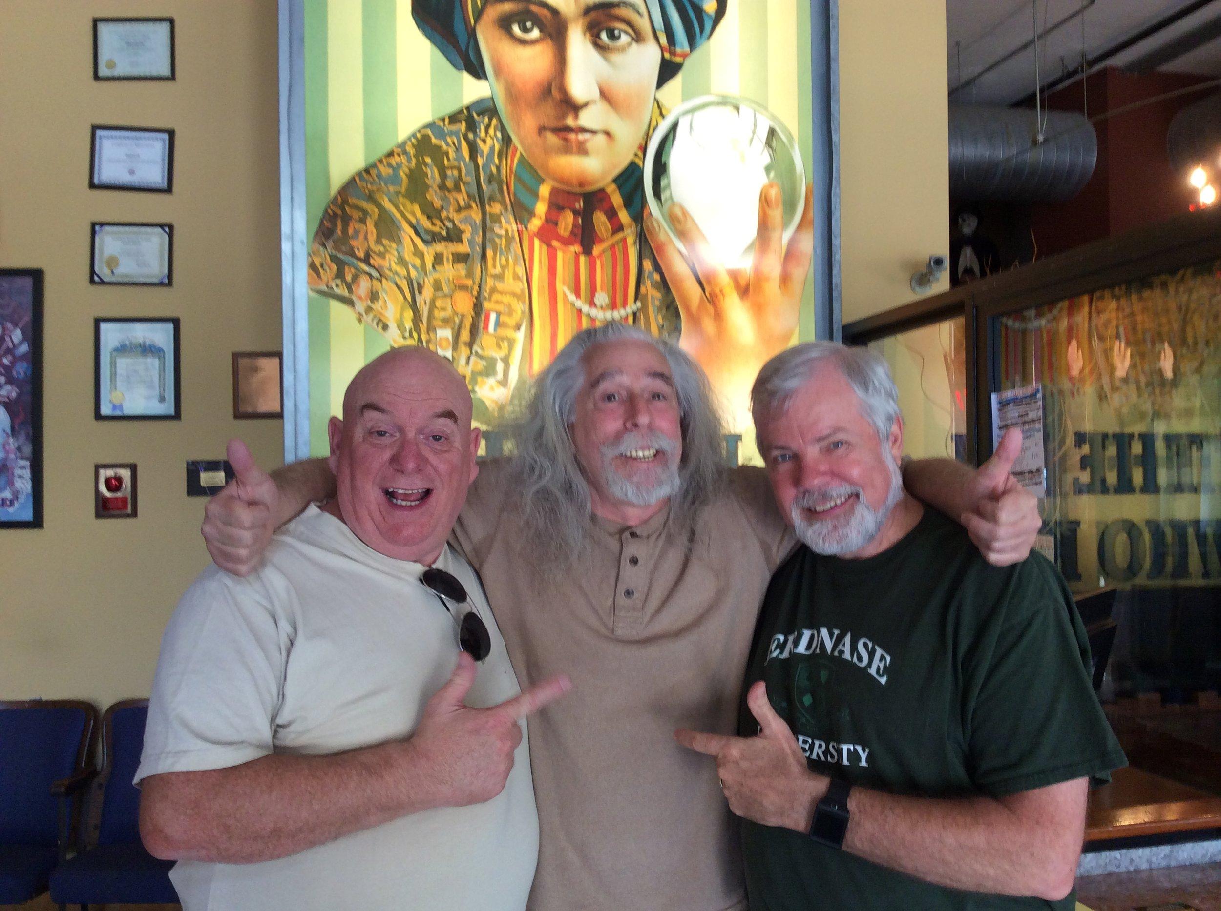 Martin Cox, Steve Spill and Scott Wells