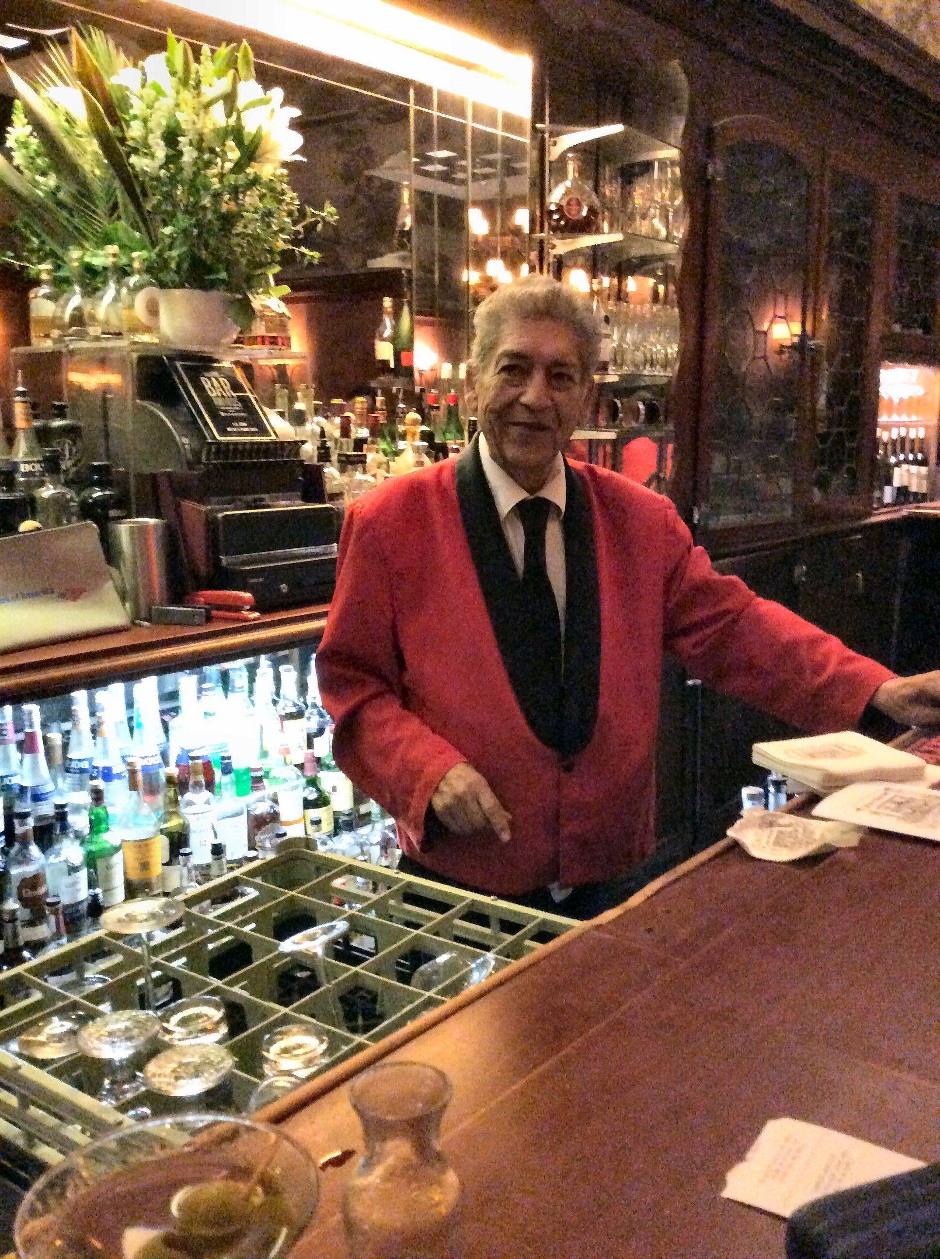 Ruben Rueda the bartender
