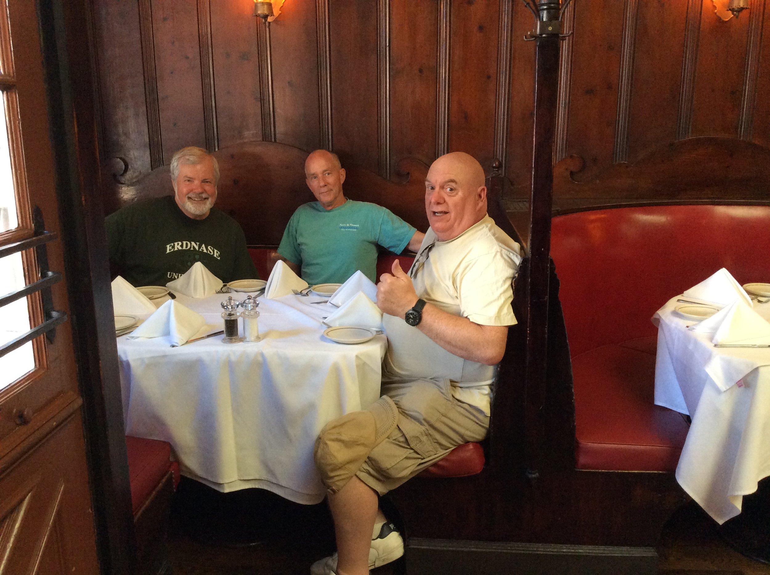 Scott, Walter Turner and Martin Cox