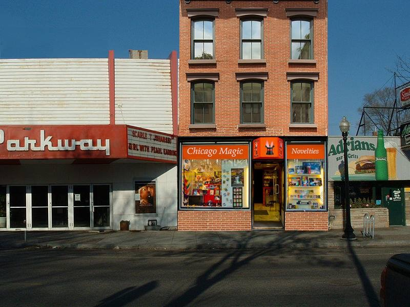 """The fictional """"Chicago Magic Shop"""" in Minneapolis"""