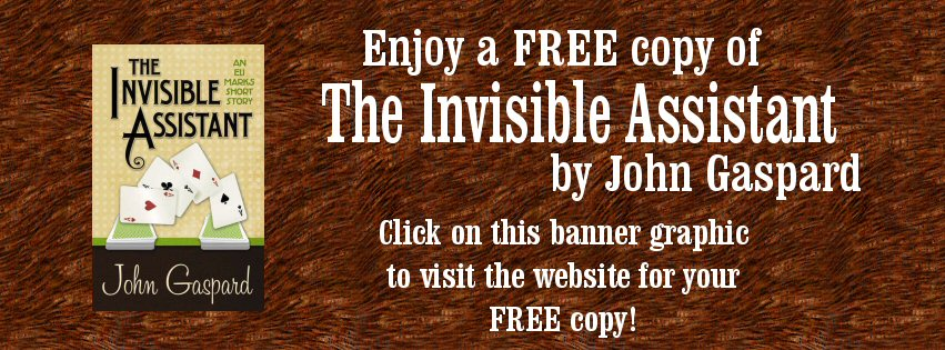 """Get your FREE copy of this short story, """"The Invisible Assistant"""" by John Gaspard at:  https://dl.bookfunnel.com/jj1r1yaavj"""