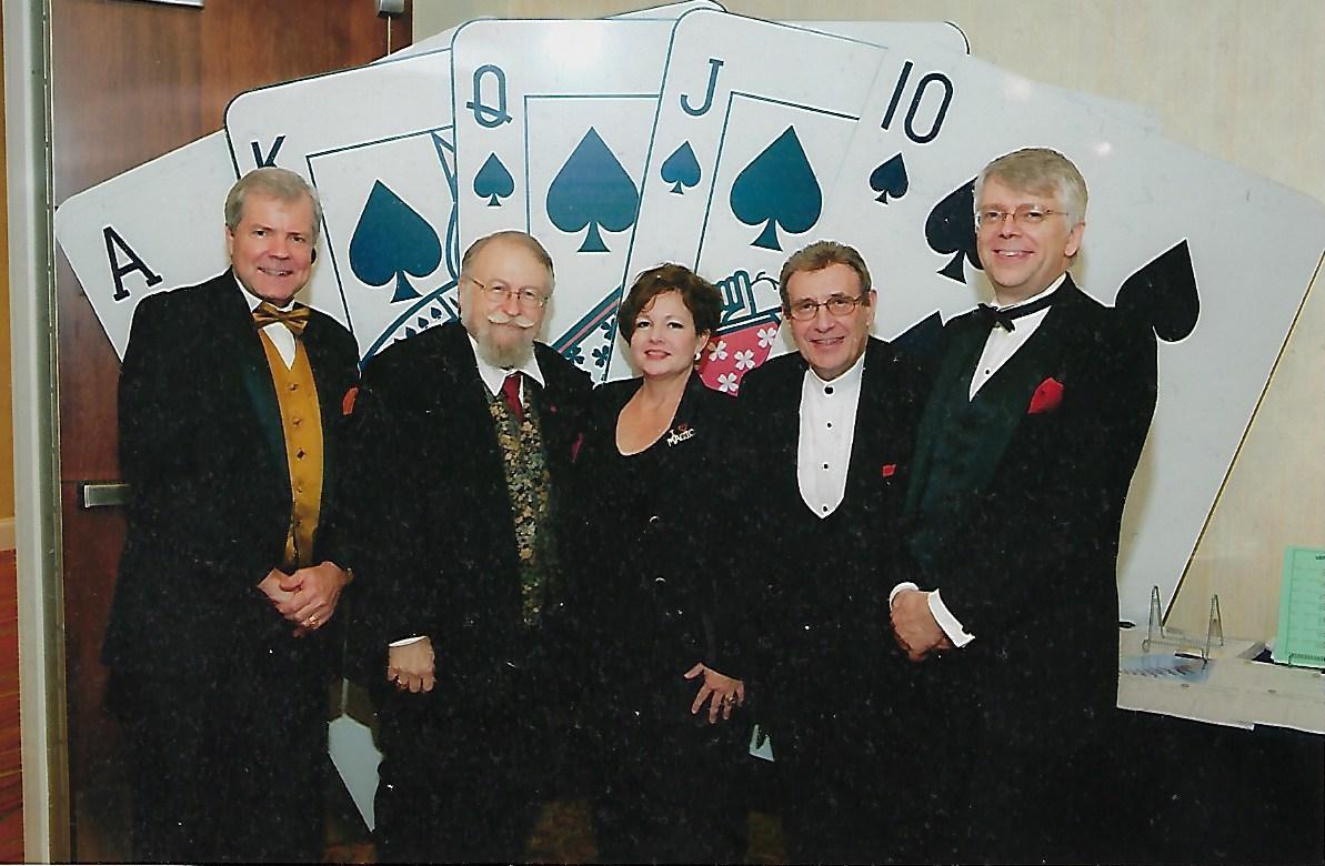 Scott Wells, Bill Palmer, Trixie Bond, Scott Hollingsworth and Richard Hatch