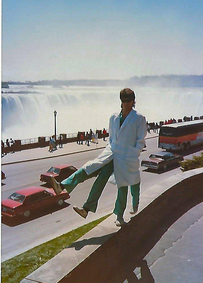 Niagra Falls in the 1990's