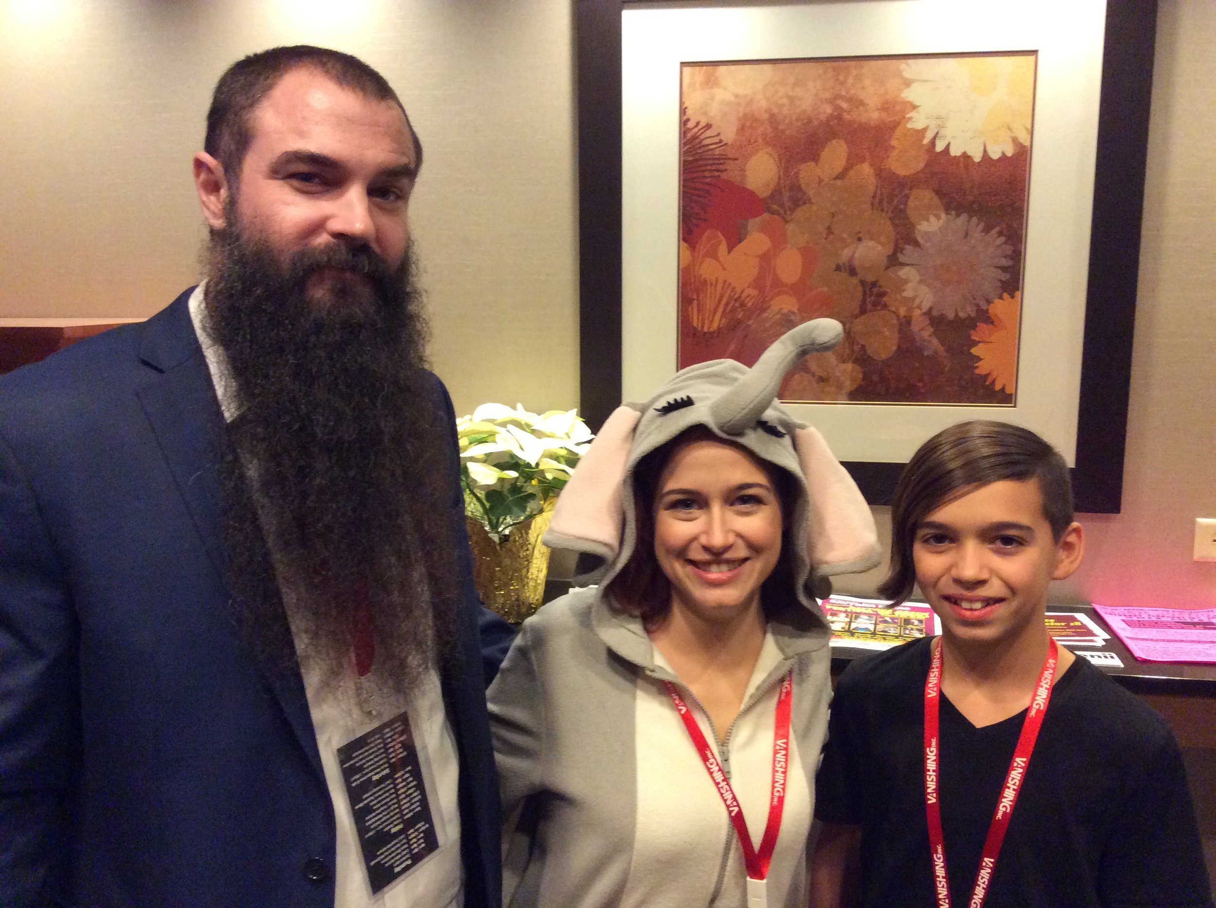 David, Sarah and Cooper Trustman