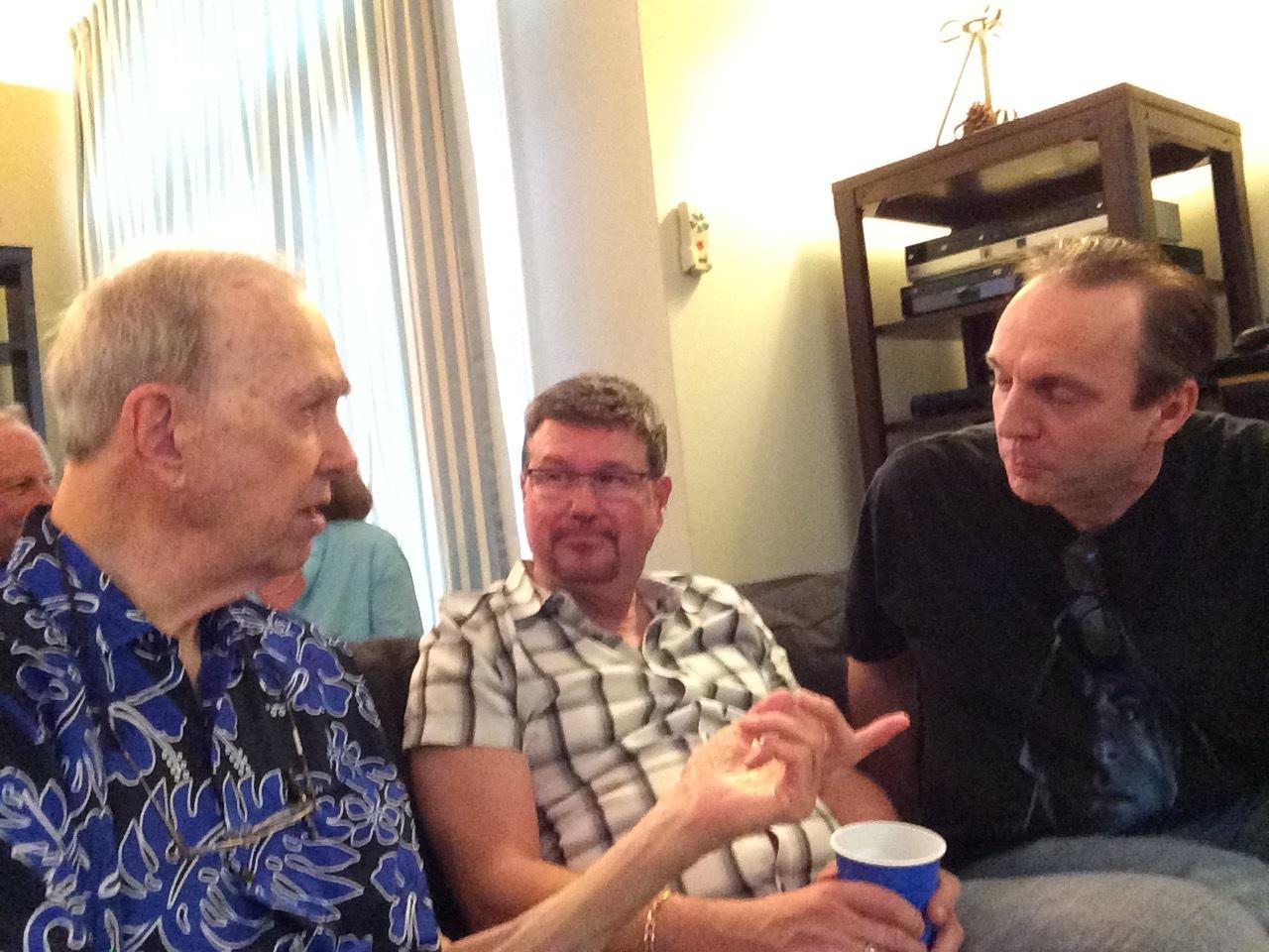 Walter, Daniel Summers and Tim Drake
