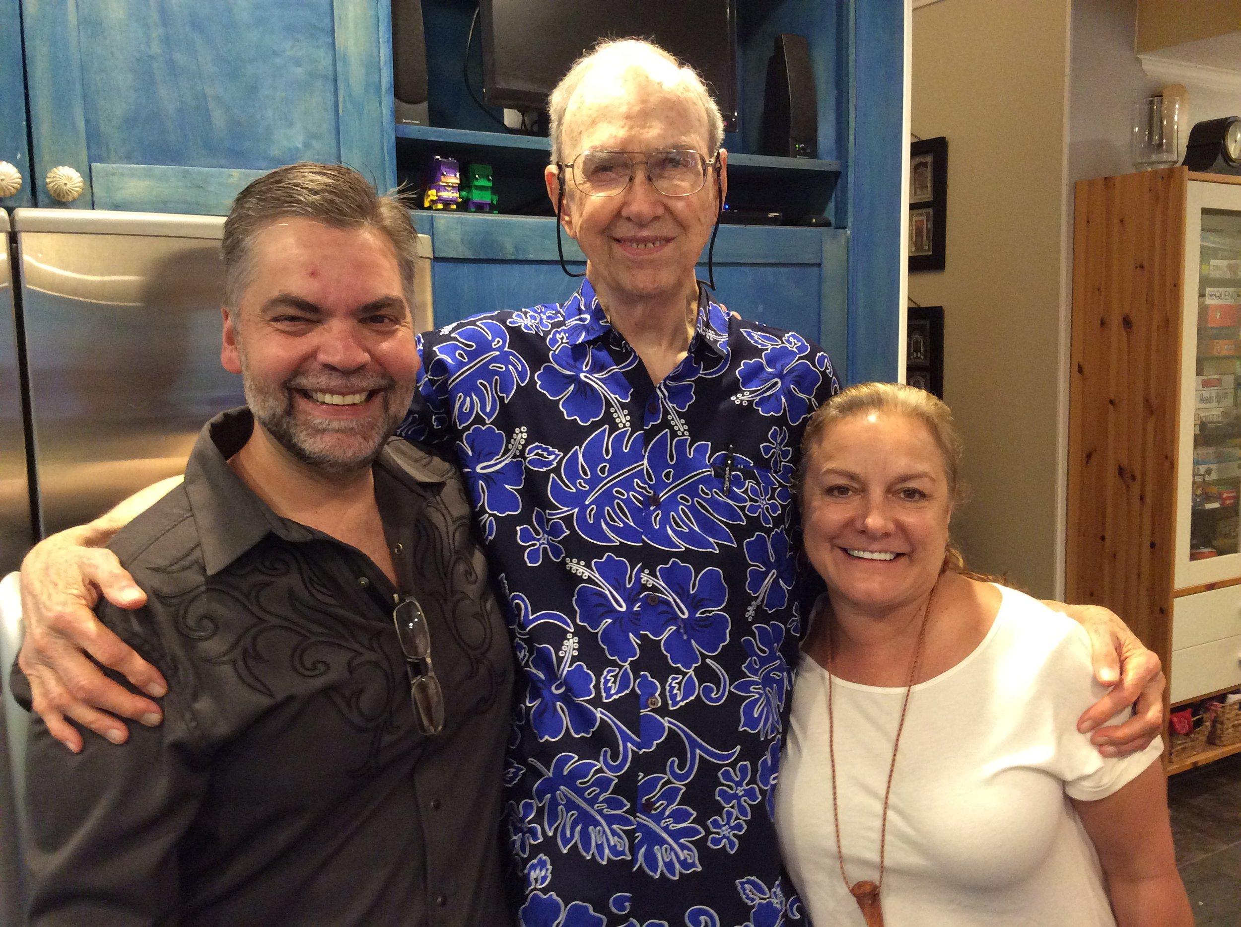 Mark Holstein, Walter and Su Holstein