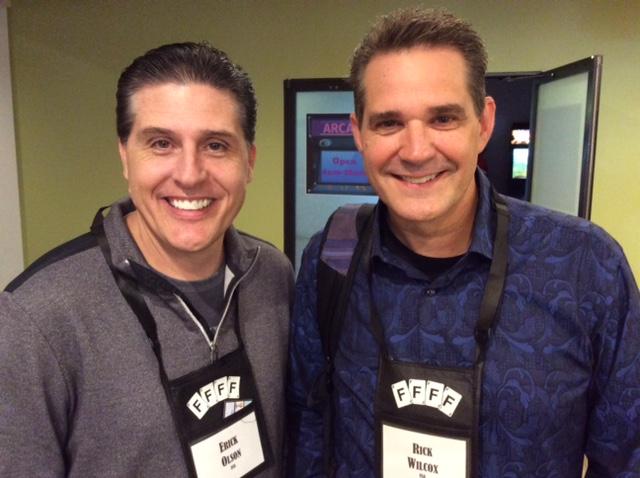 Erick Olson and Rick Wilcox