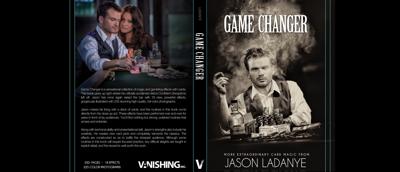 """Dust Jacket from his next book, """"Game Changer"""""""