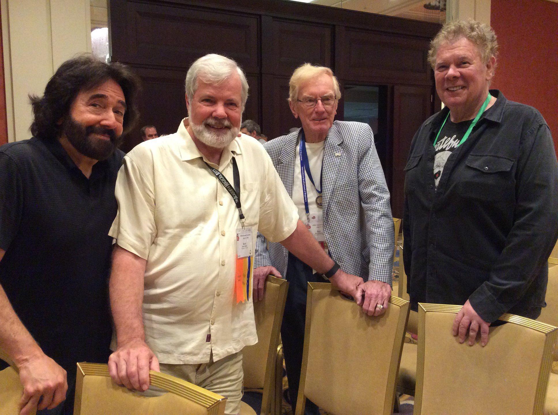 Larry Wilson, Scott Wells, Don Wiberg and Nick Lewiin