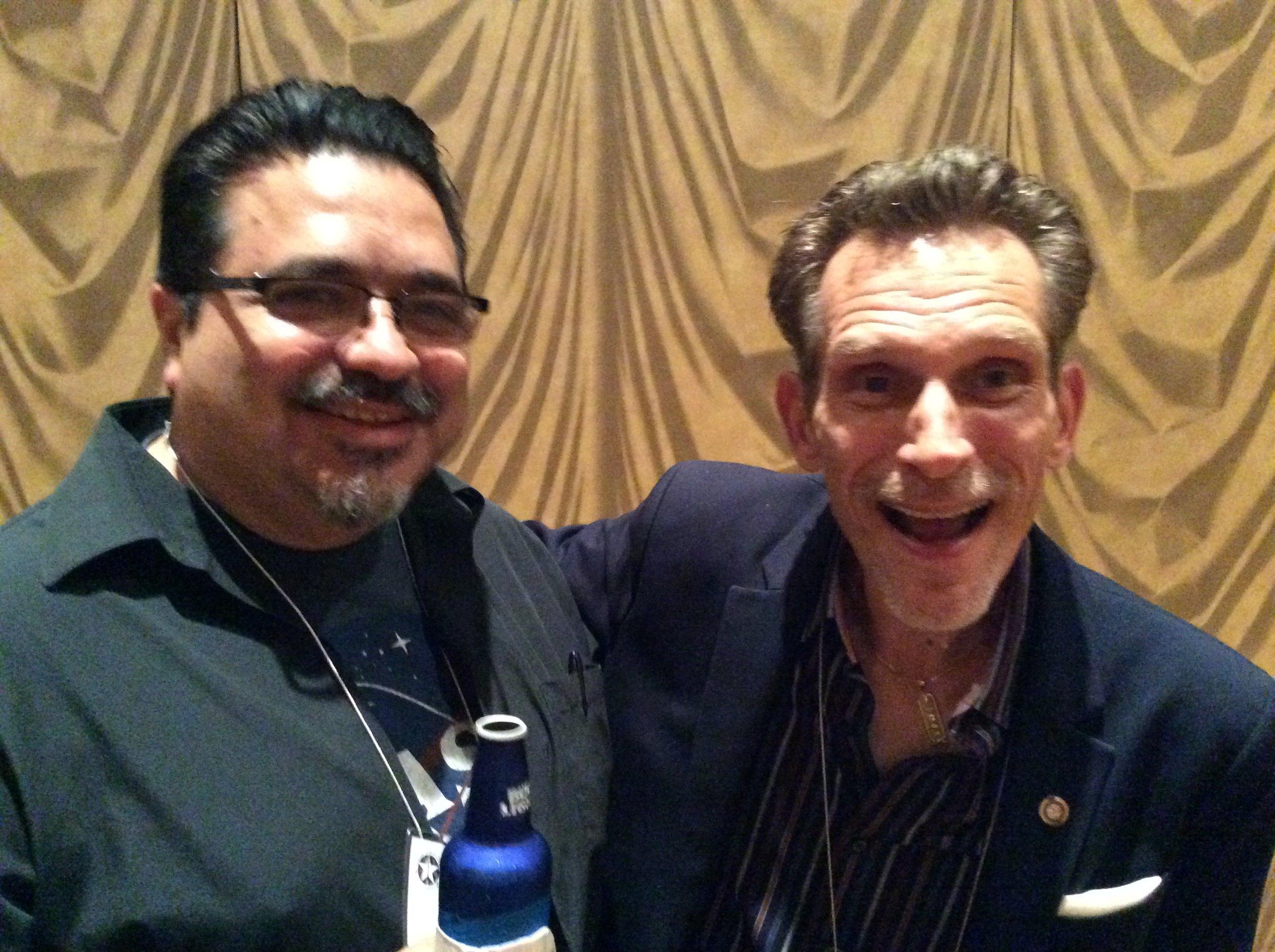 Jamie Salinas and Chip Romero