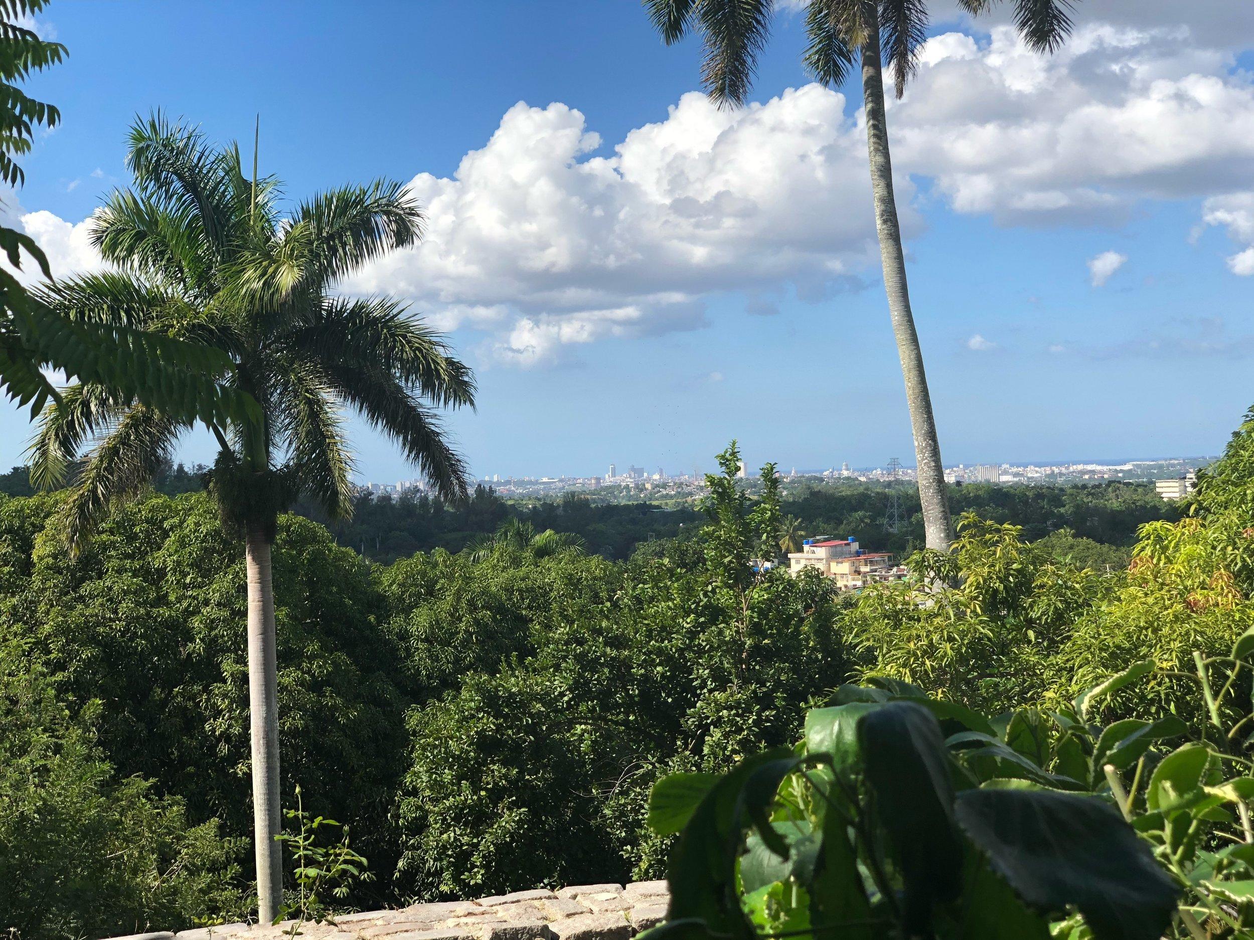 View of Havana from Hemingway House
