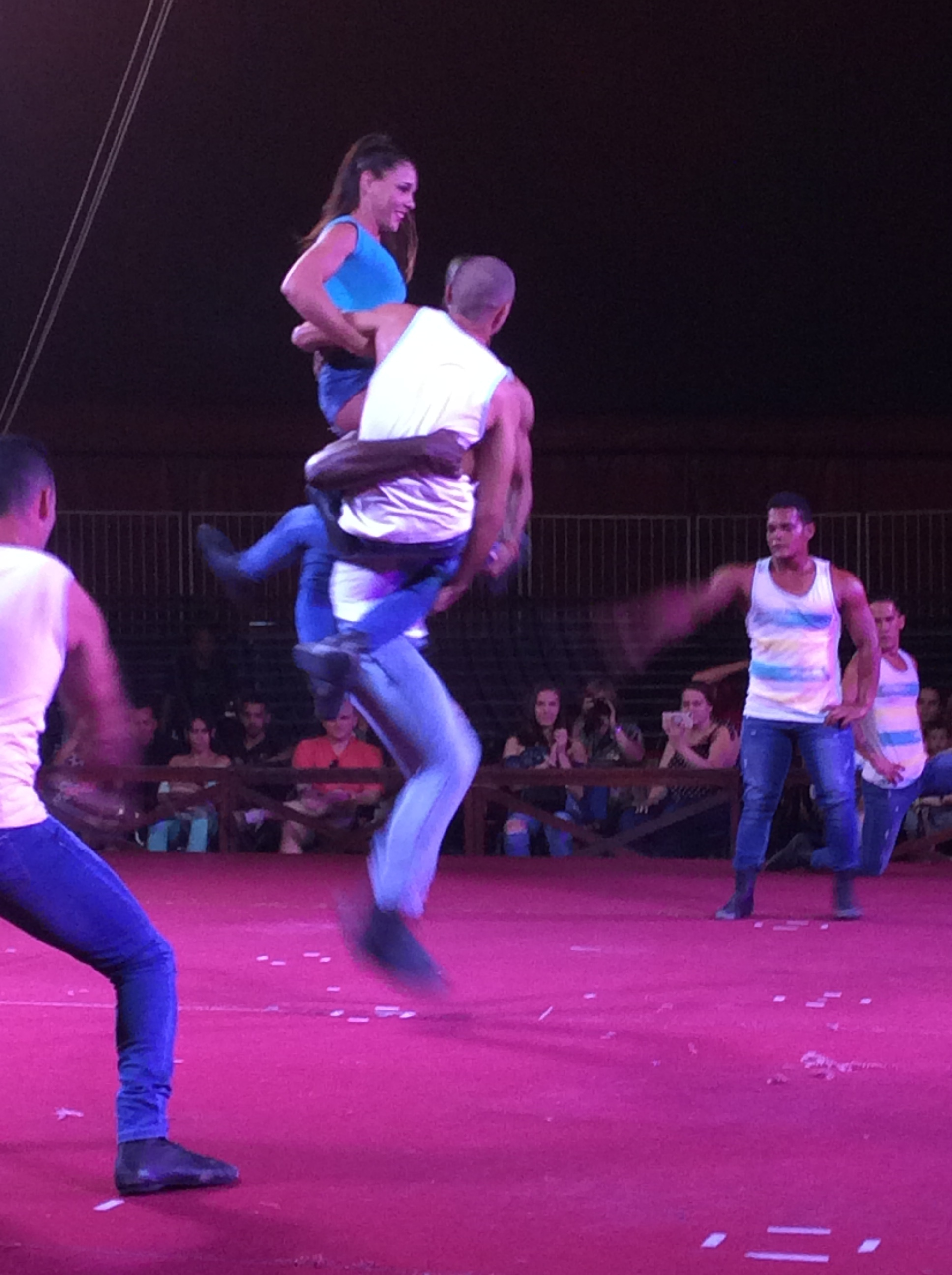 Jump Rope Artists in Circus