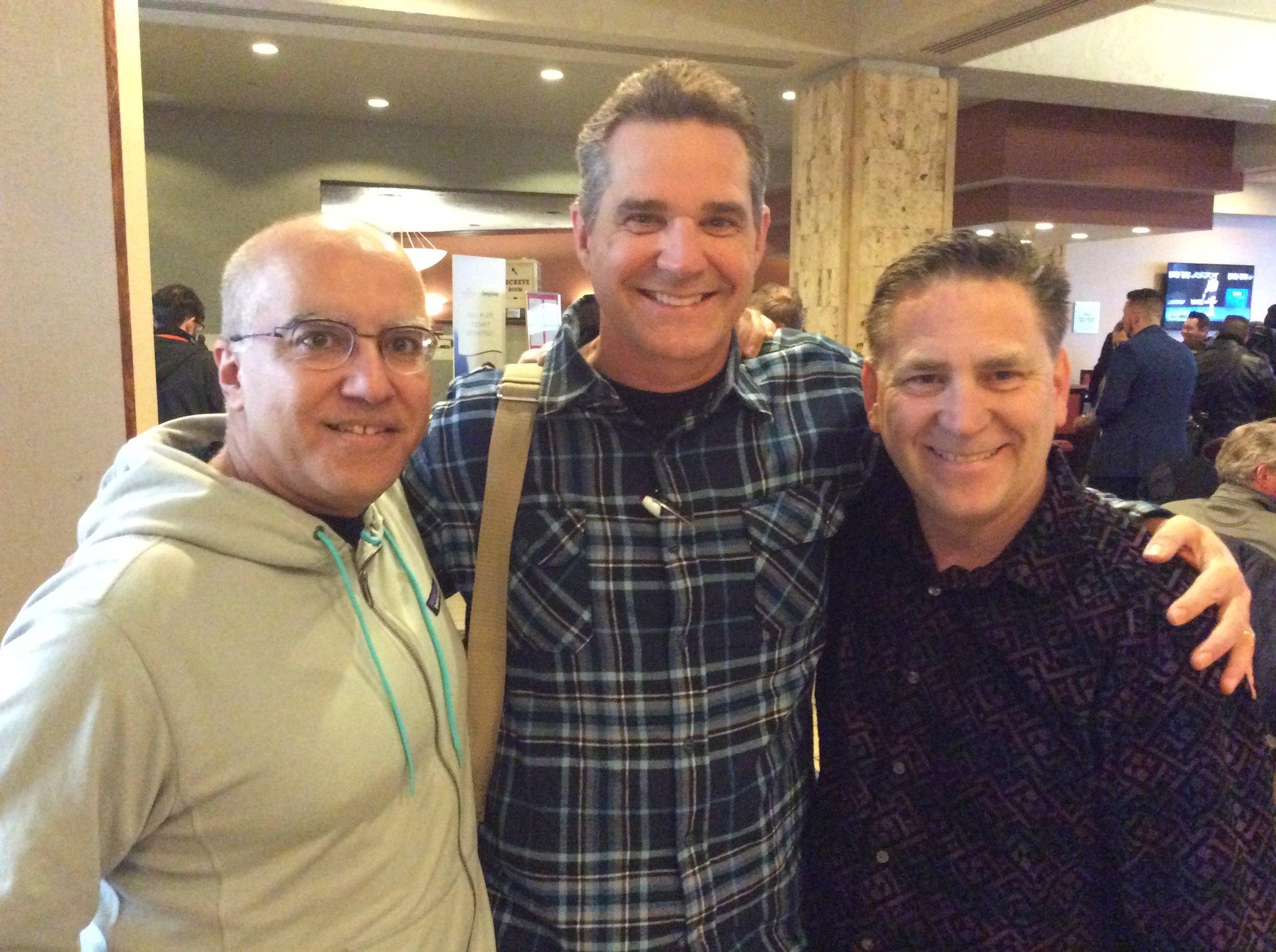 Raj Madhok, Rick Wilcox and Scott Robinson