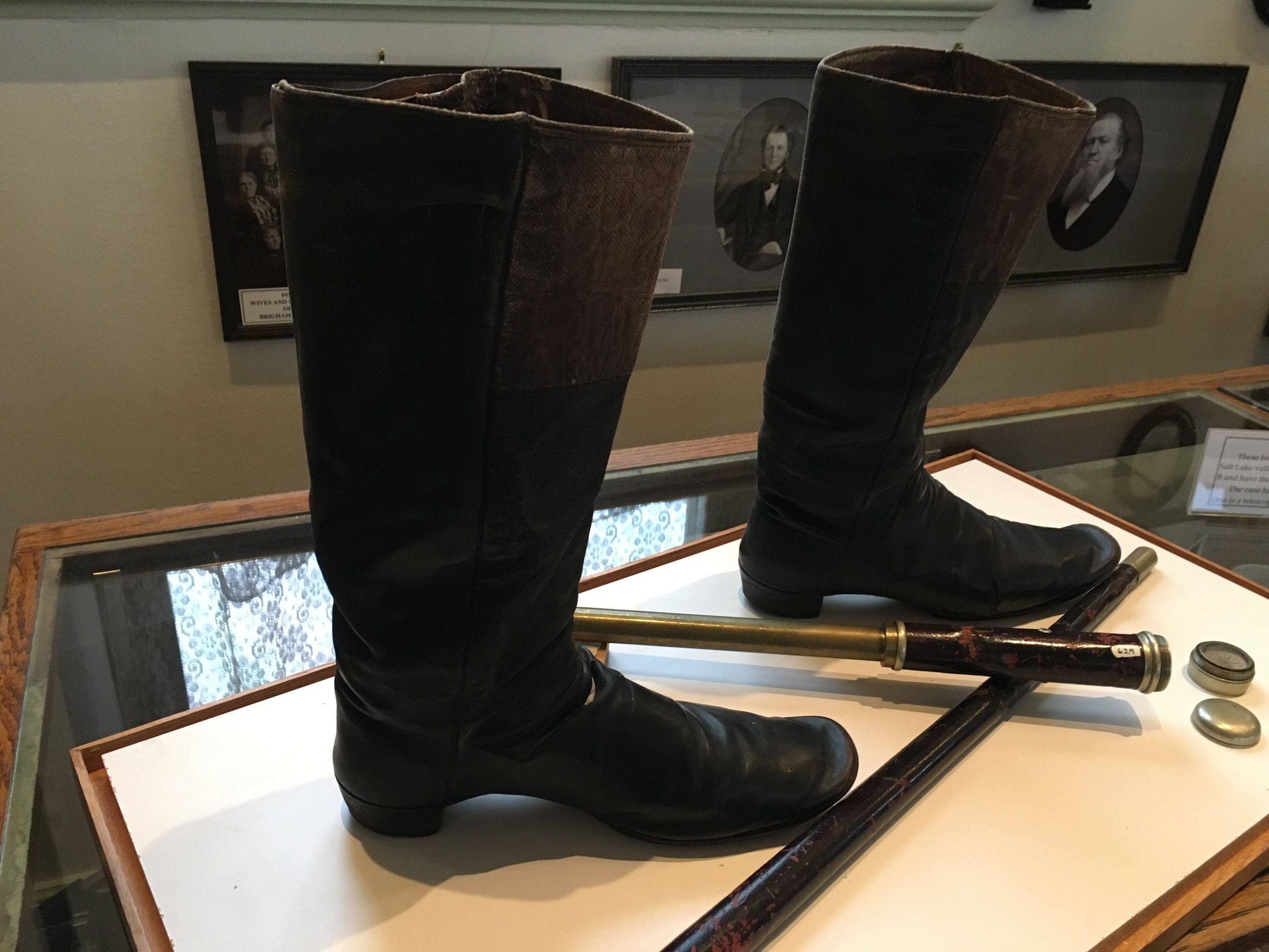 Brigham Young's Boots