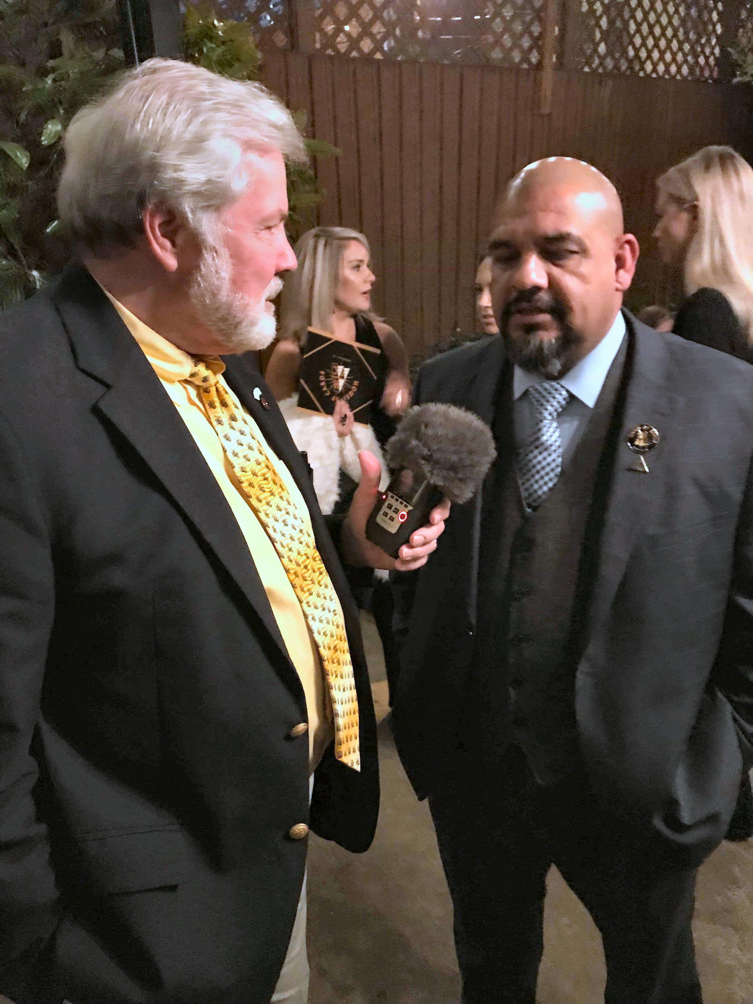 Scott with Joey Martinez