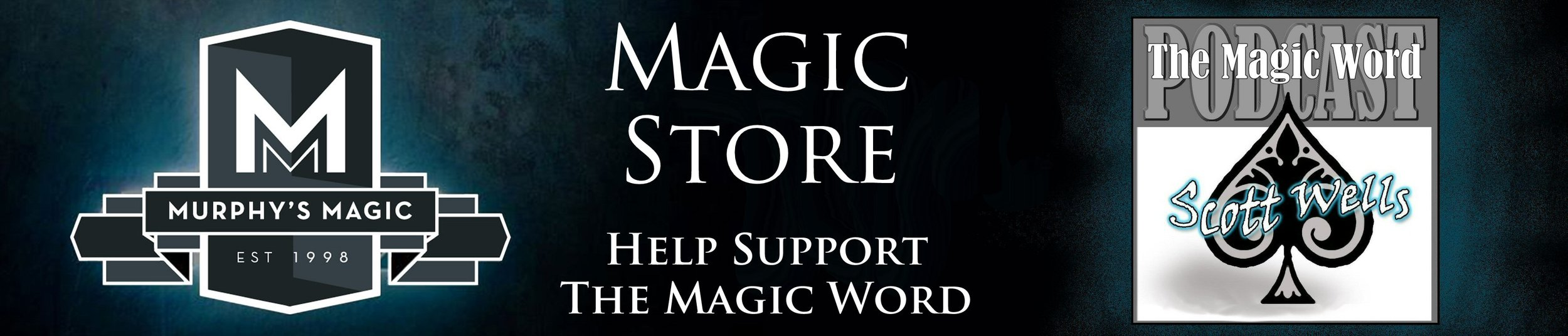 Visit our store and consider purchasing your online magic from The Magic Word and help support the podcast.