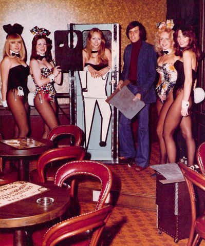 Shep performing at the Playboy Club