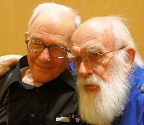 Ray Hyman with James Randi