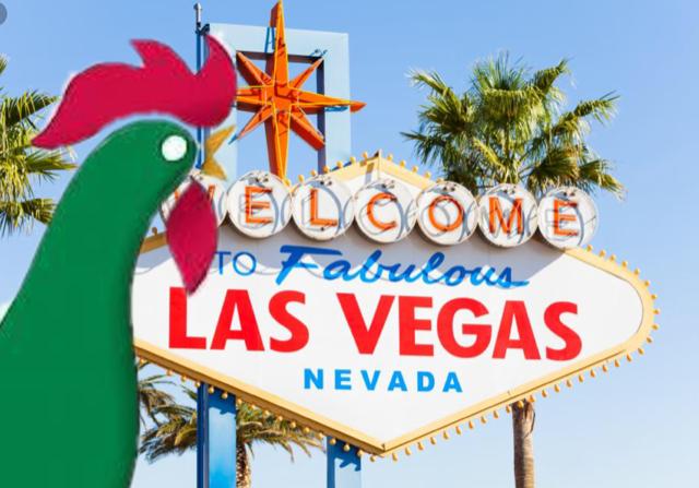 Arriving Early in Las Vegas