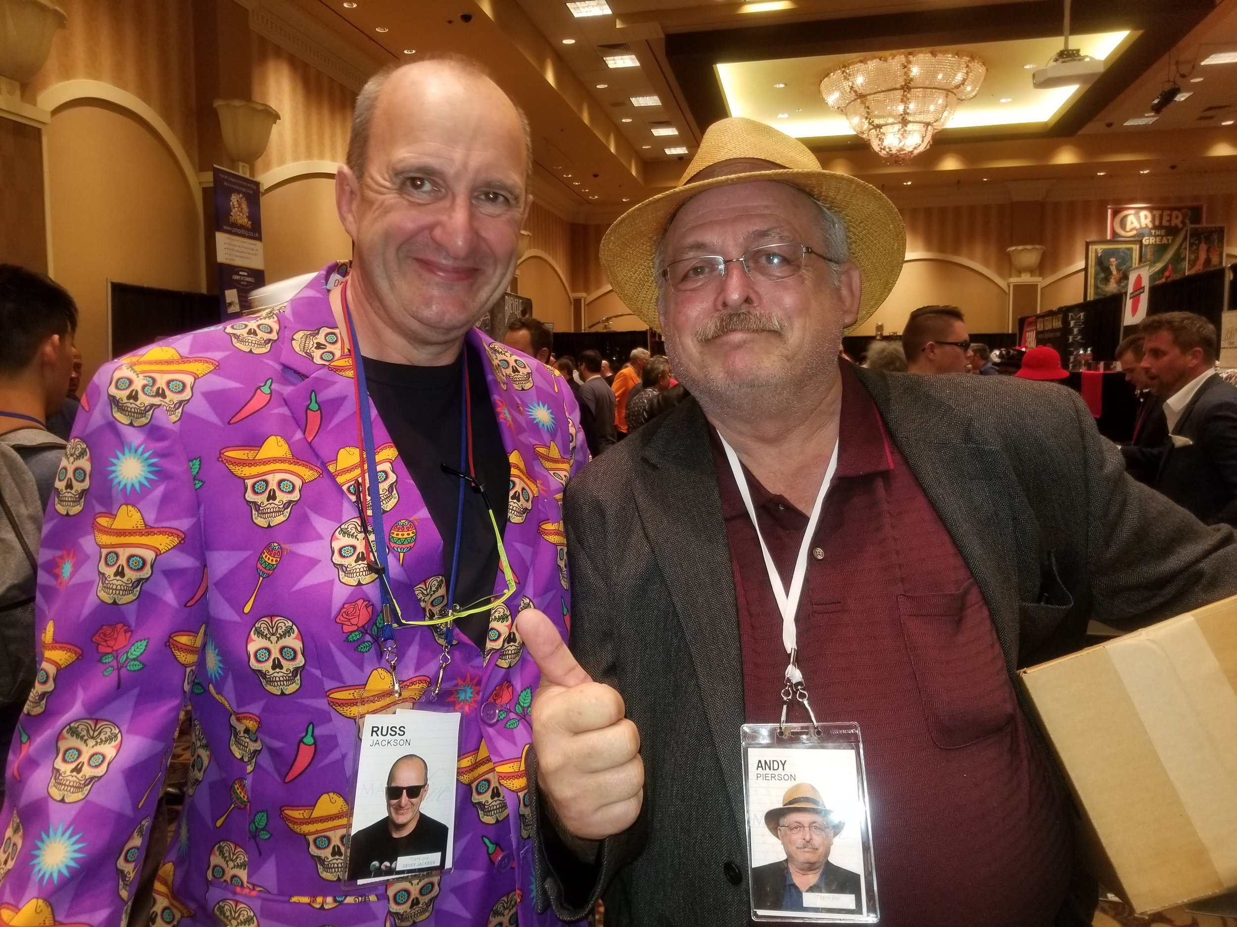 Russ Jackson and Andy Pierson