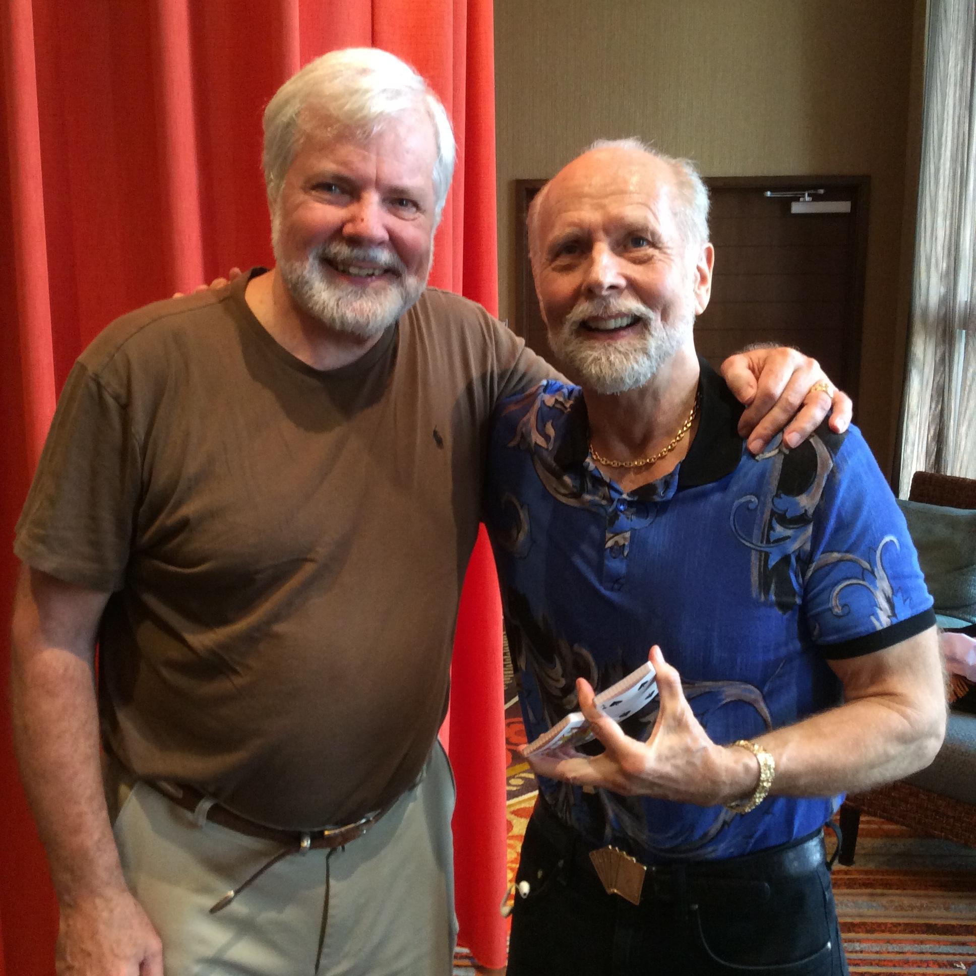 Scott with Richard Turner