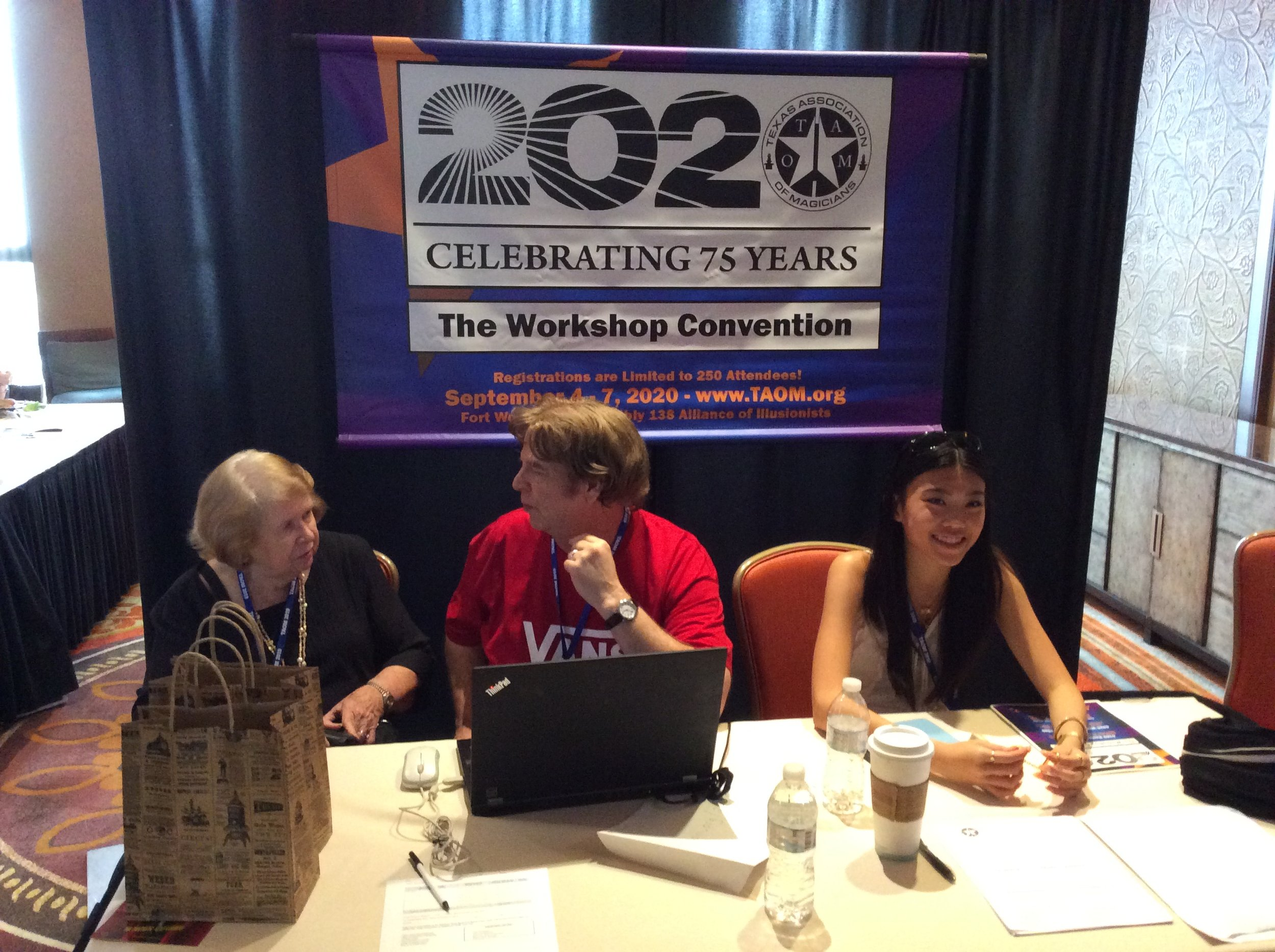 Registration for Ft. Worth 2020 T.A.O.M. Convention