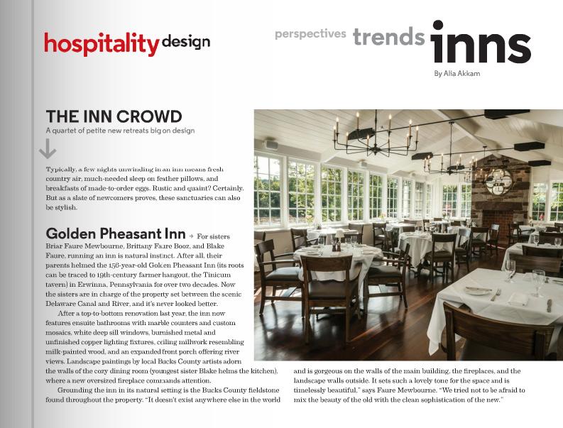 Hospitality Design Magazine 2013