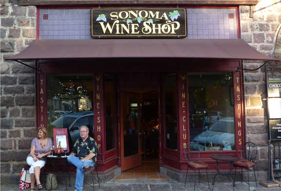 Come Visit us on Sonoma Plaza. Click to read a great story about the 1911 Sonoma Fire and the Pinelli Building
