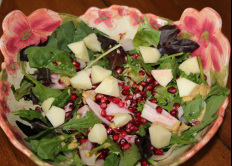 Pomegranate, Endive, Apple - Inspired by Traditions and Recipes
