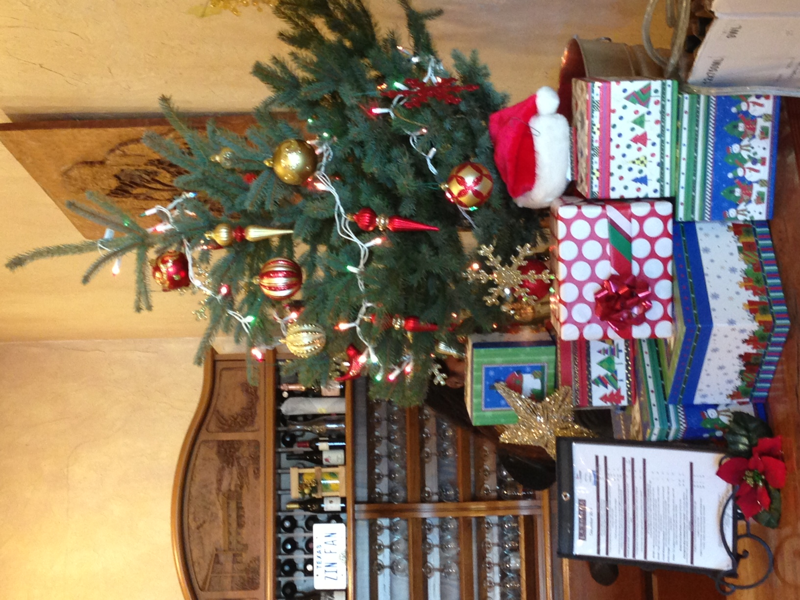 Christmas at the Wine Shop