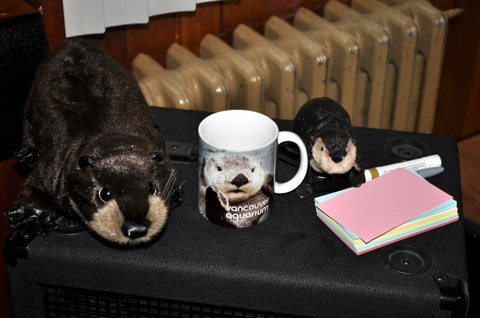 Sister Love's Travelling Otter Show.