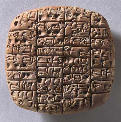 cuneiform text dates back to the 6th year of prince Lugalanda who ruled about 2370 B.C. in southern Mesopotamia..jpg