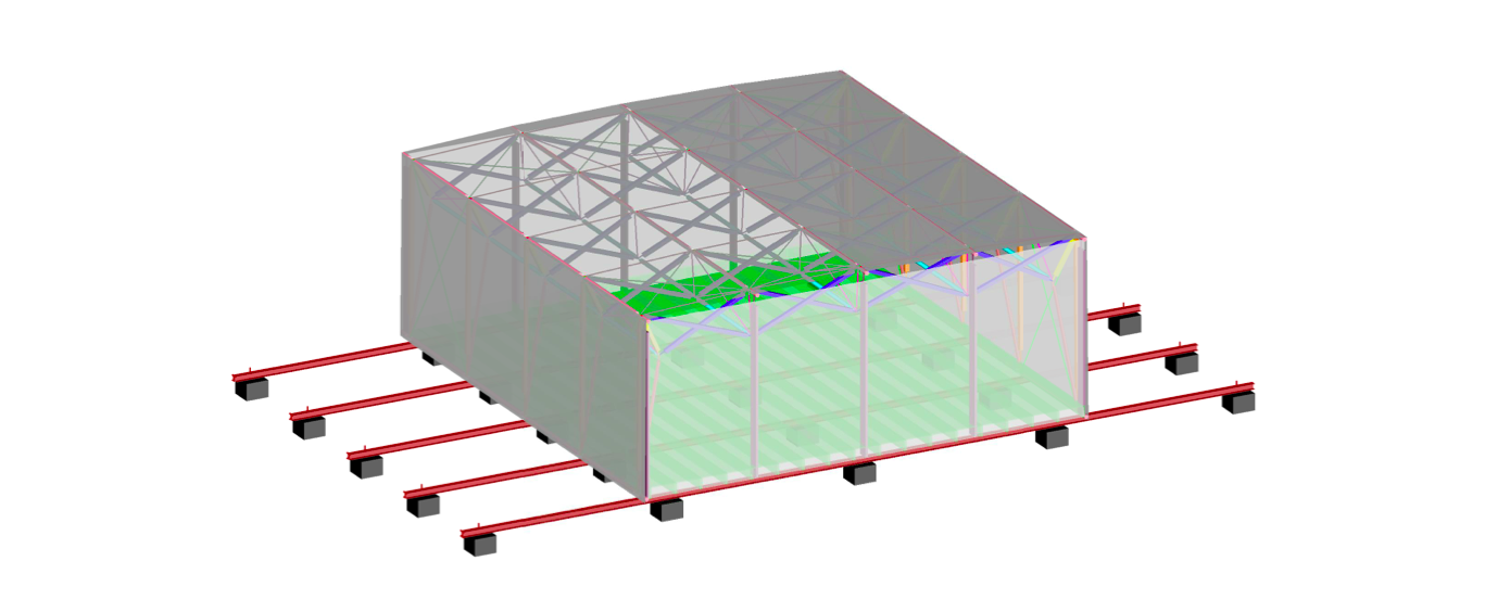 Isometric Full Assembly Erected