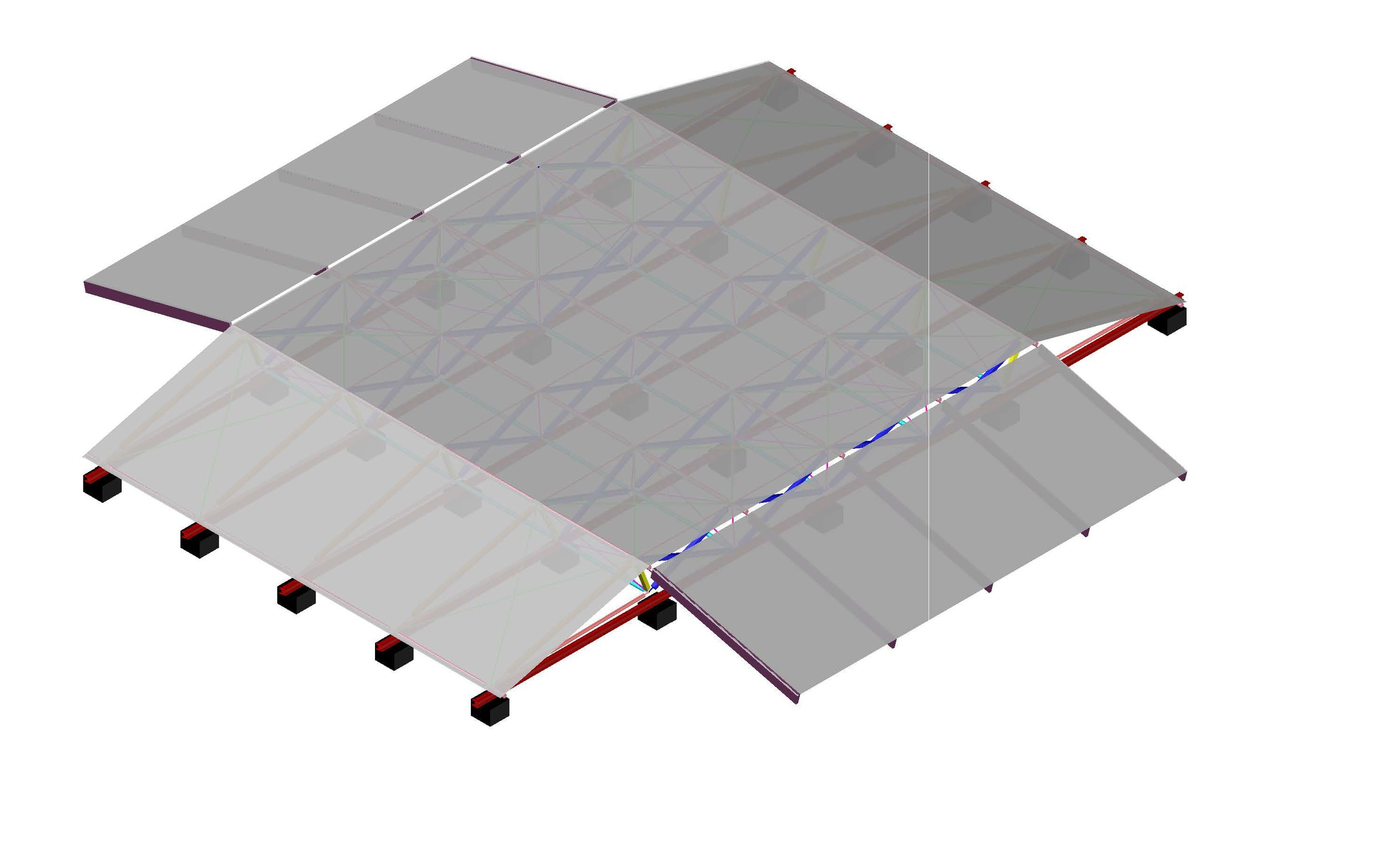 Isometric Full Assembly on Ground