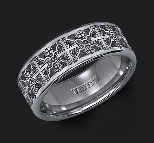 Triton Tungsten Ring