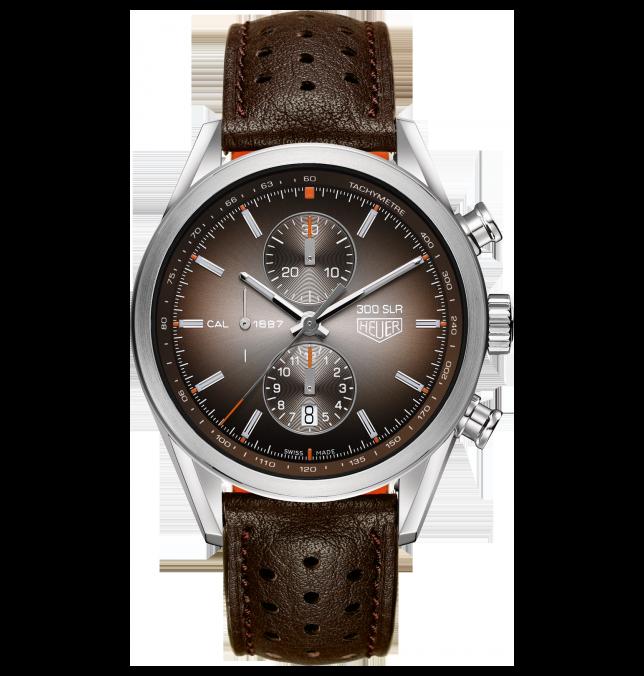 Tag Heuer SLR 300 throwback watch