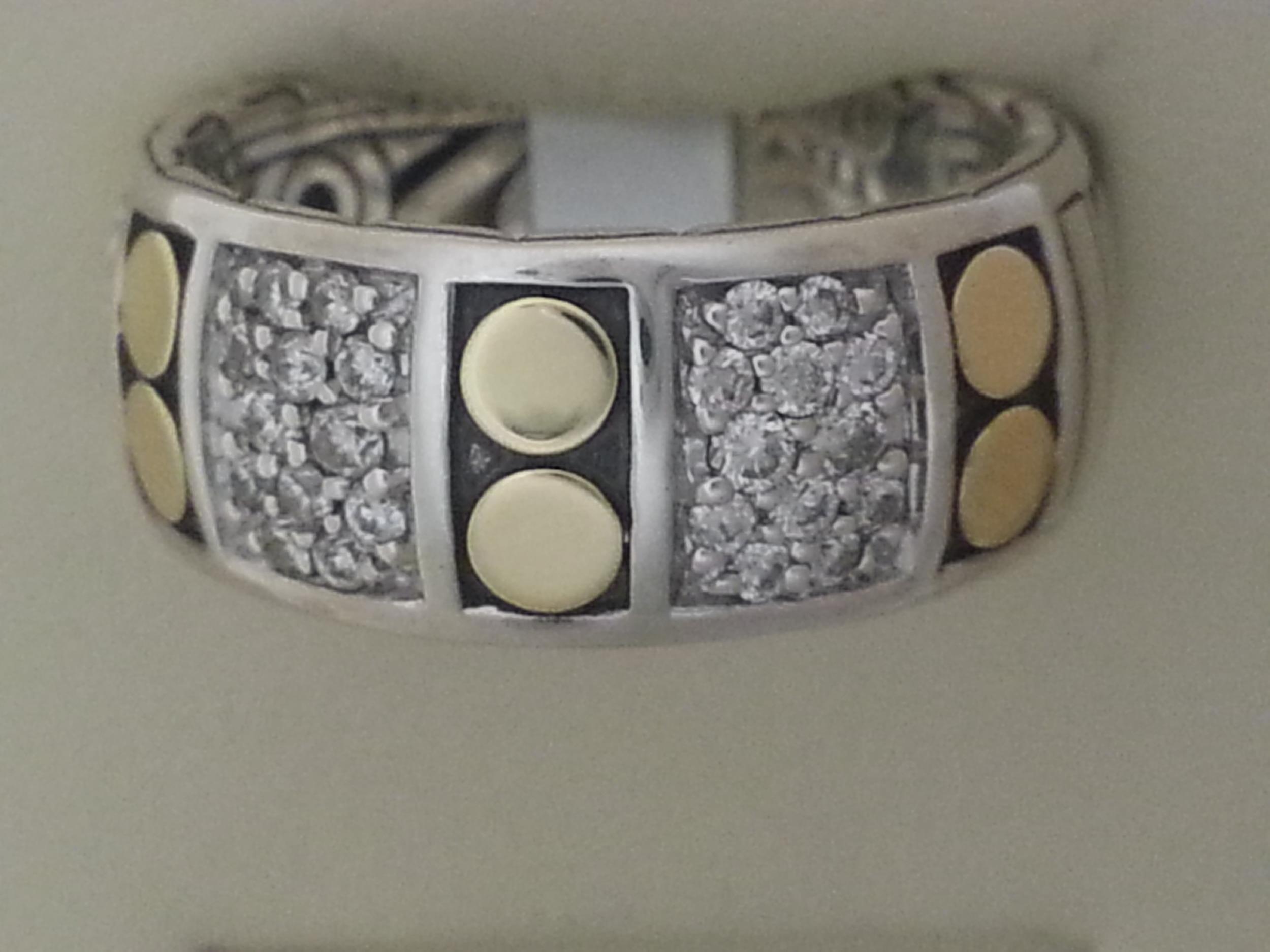 John Hardy diamond diamond ring