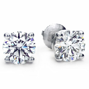 1.00 carat diamond studs, the classic gift every woman should have. These match everything you can dress them up or dress them down. Perfect gift for anyone.  $3,000