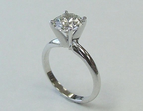 Diamond solitaire engagement rings perfect everyday ring with emphasis on the center diamond priced from $1000-$60,000 making it agreat gift for any woman.