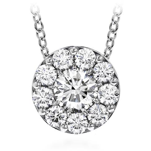Idealcut diamond pendant necklace, 1.08 total carats,valued at $5700