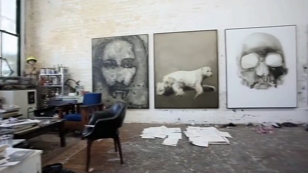 Guy Maestri talks with ABC1  Sunday Arts programme about his work and process.