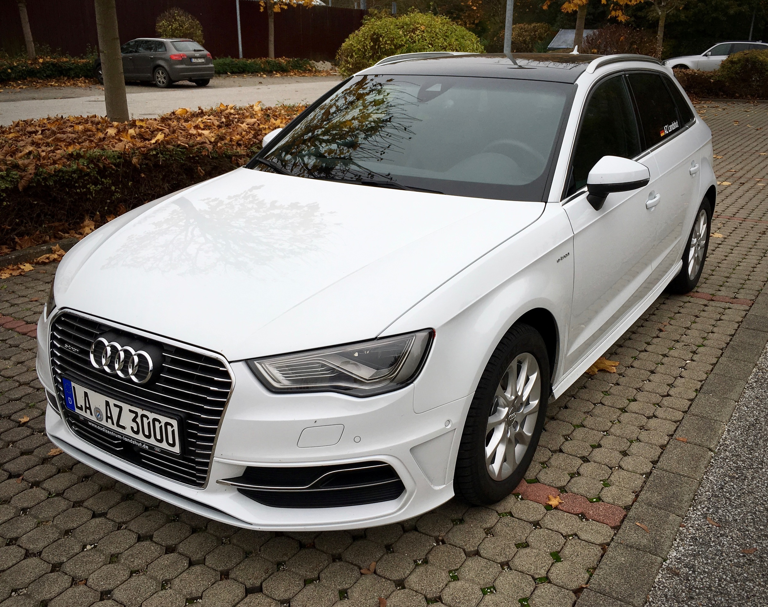 Still an A3, still good looking, with subtle design cues for the e-tron