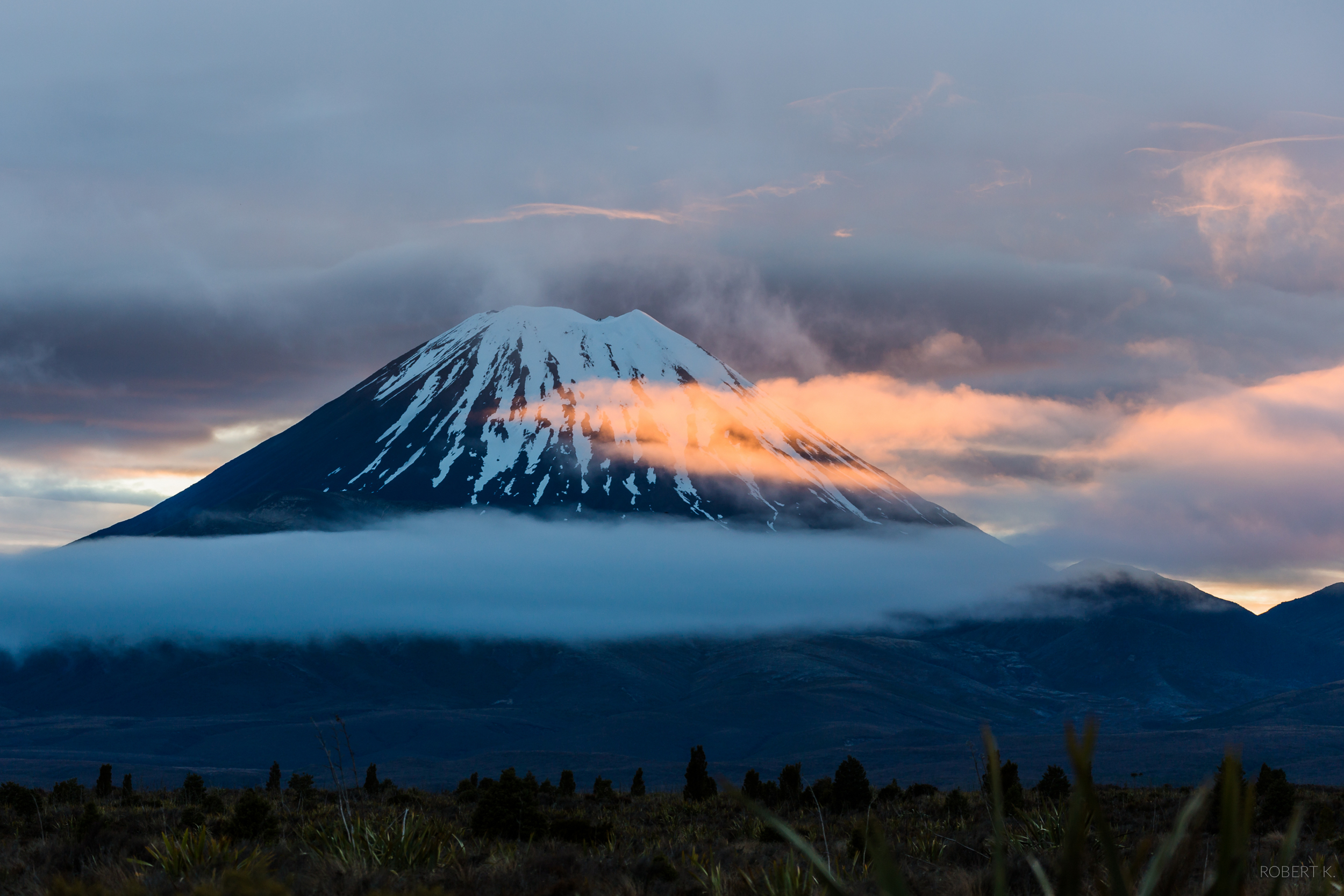 Mount Ngauruhoe, also known as Mount Doom
