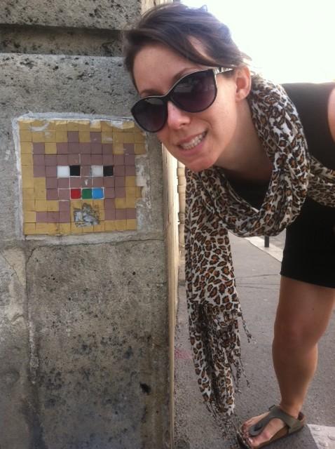 We hunted Space Invaders across Paris!