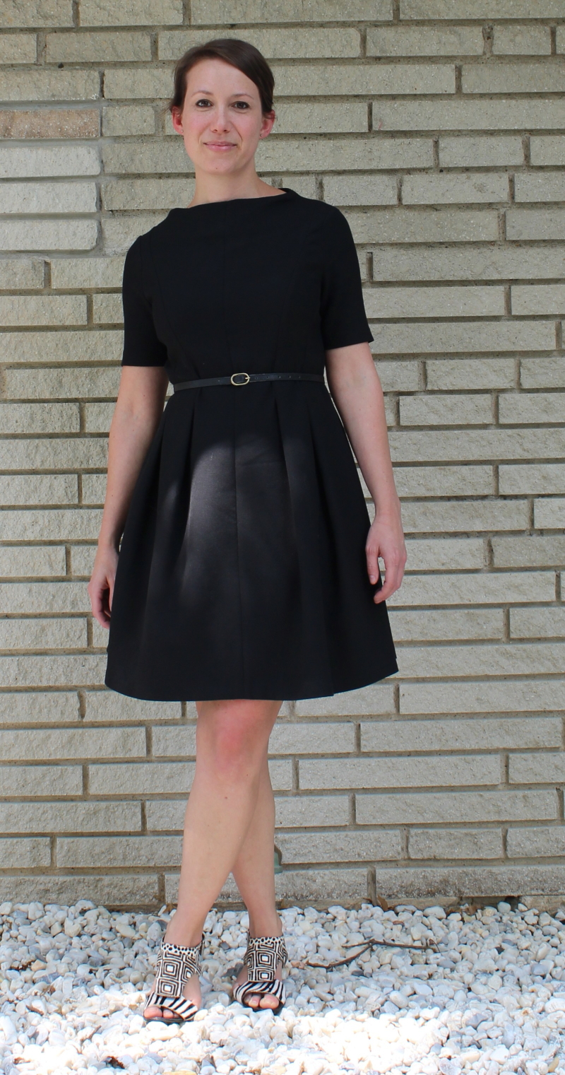 classic black dress for all occasions