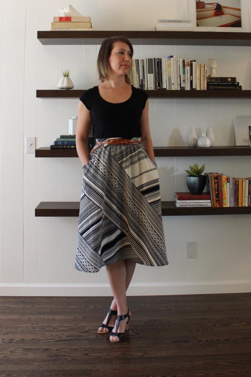 st louis personal shopper summer skirt