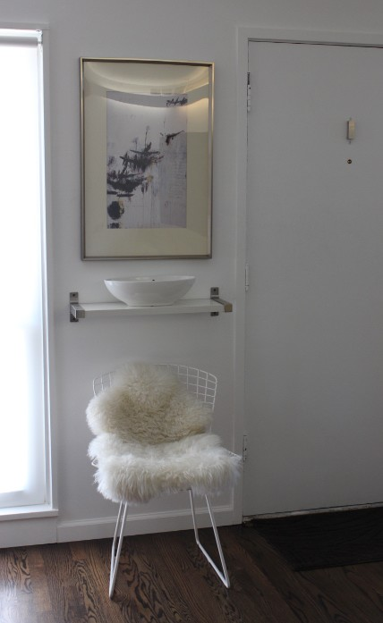 apartment therapy landing strip - mindful closet