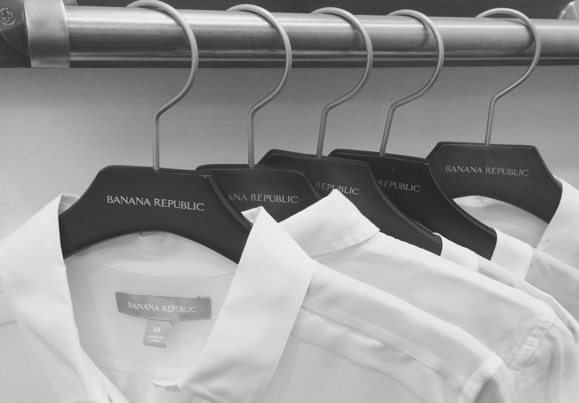 on a recent shopping trip for the perfect white shirt...