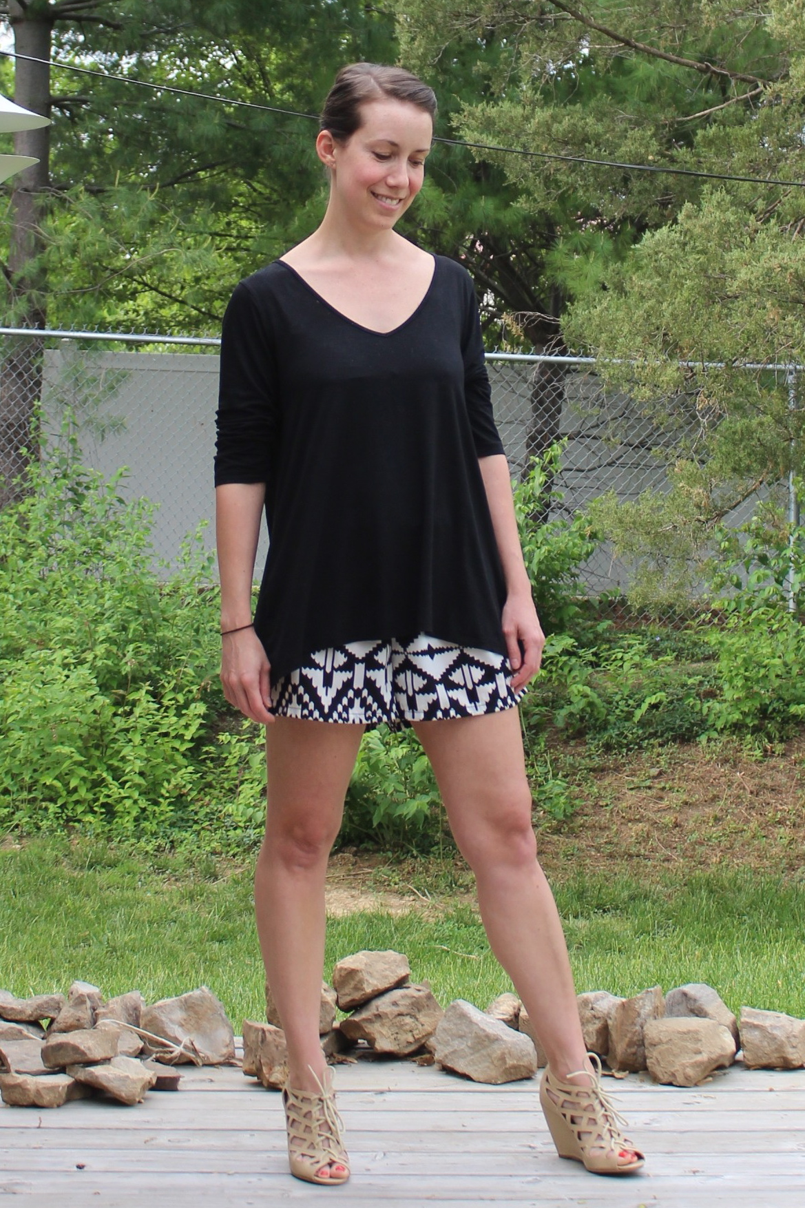 mindful closet: formal shorts