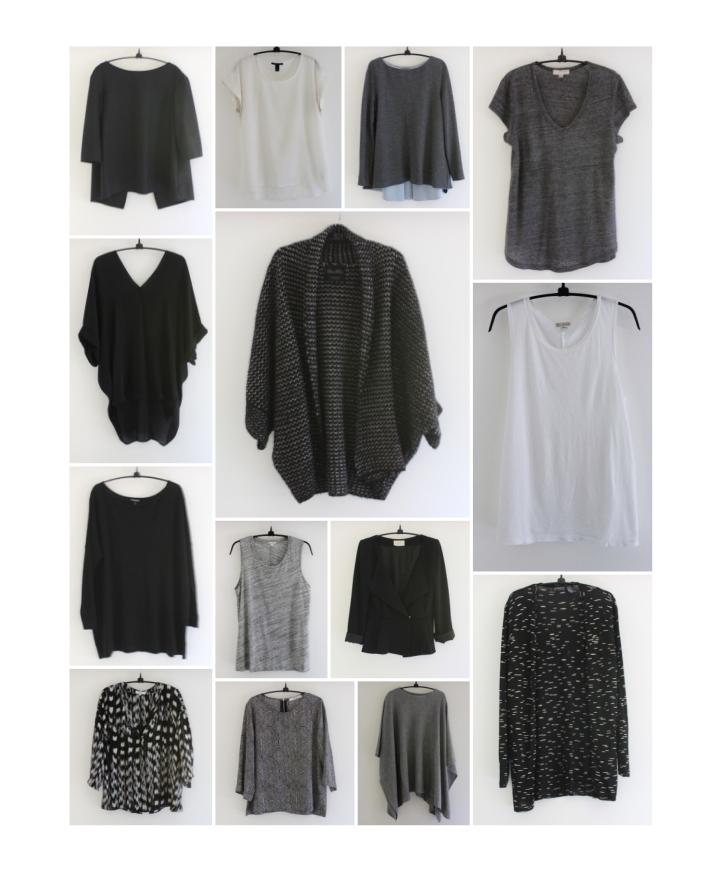 mindful closet capsule wardrobe tops